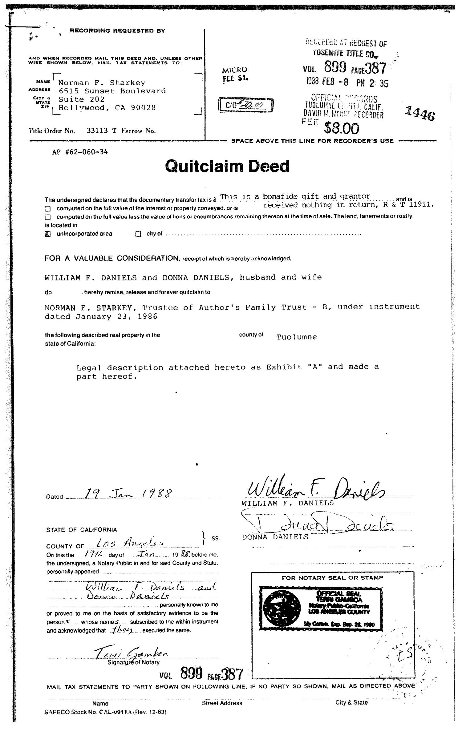 Scanned documents relating to Scientology